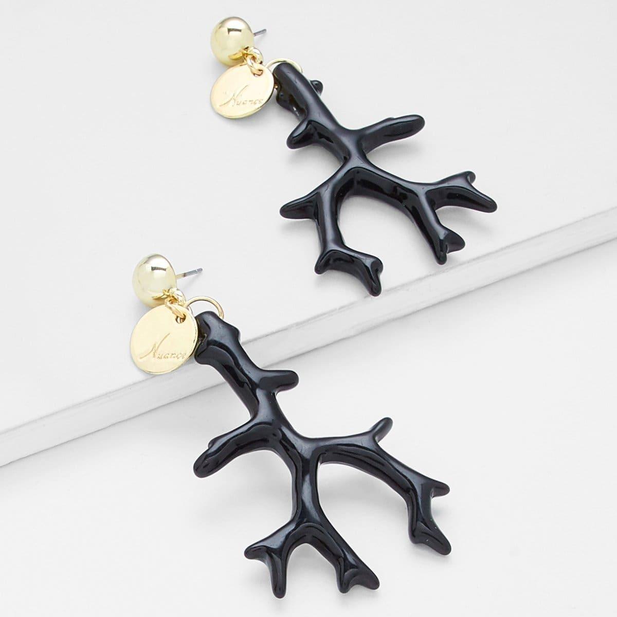 - Branch Drop Earrings
