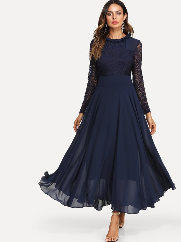 0199c8e15f Cheap Lace Top Maxi Flowy From Dress for sale Australia | SHEIN