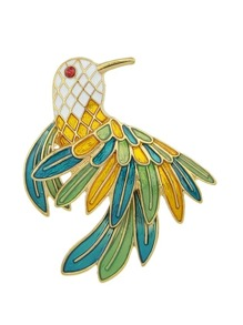 Bird Brooch