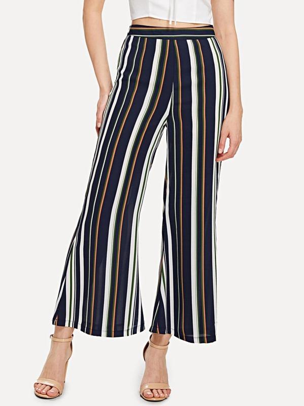 798a4eeff7 Pantaloni larghi a strisce