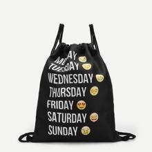 Emoji Icons Backpacks Bag