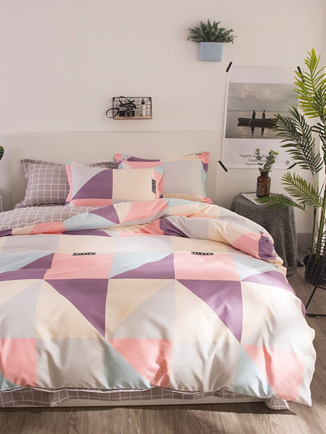 new all amazon home curtains bedding patchwork co vintage sizes uk double cover duvet pink set dp with bumper kitchen