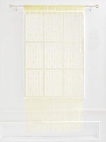 Heart Pattern Rod-Pocket Window Shades 1pc curtain18041020