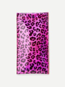 Leopard Pattern Glasses Bag