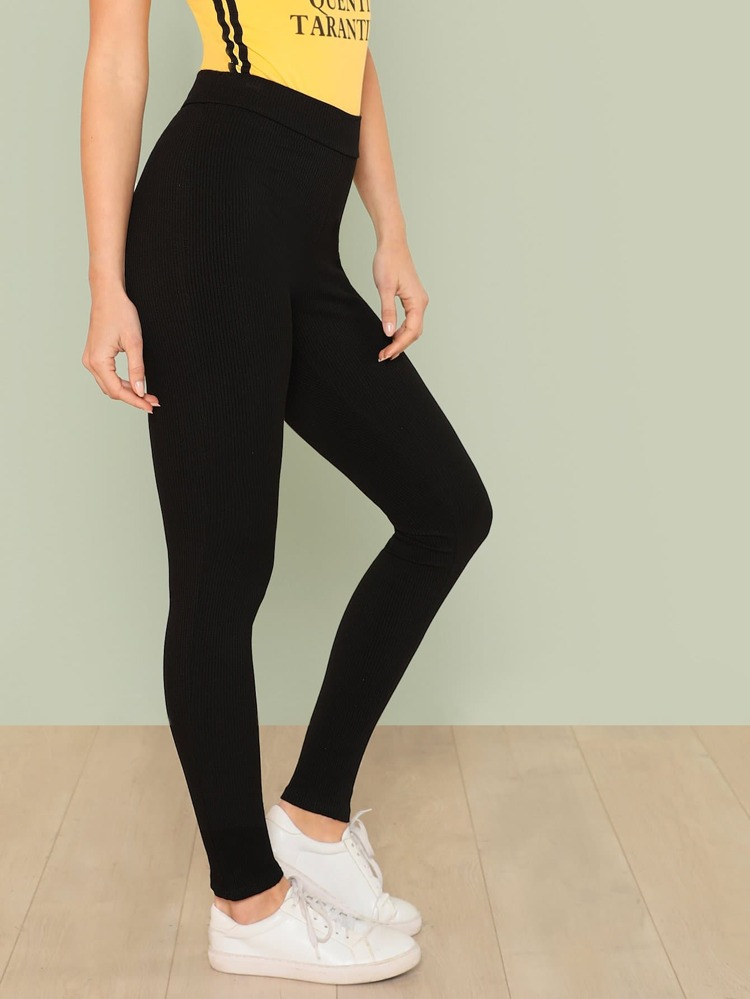 largest selection of 2019 hot product big collection Ribbed Knit Leggings