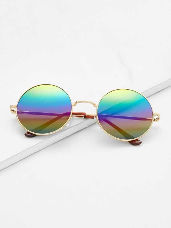 1217edca34 Gafas de sol redondas - multicolor | SHEIN ES