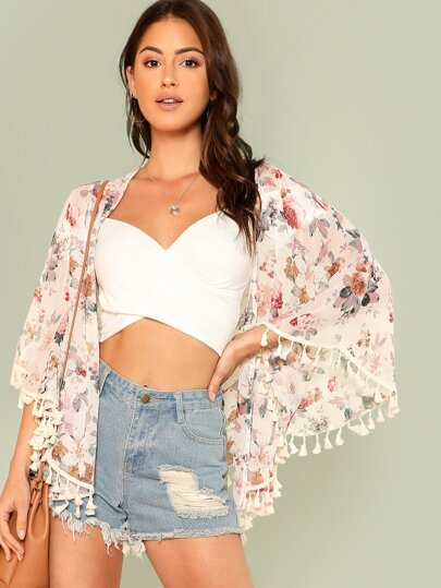 Veste kimono femme h&m