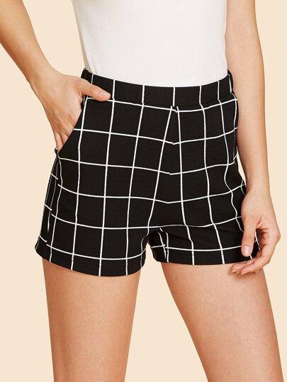 40b6562c8b Shorts |Denim shorts|Shorts For Women |ROMWE