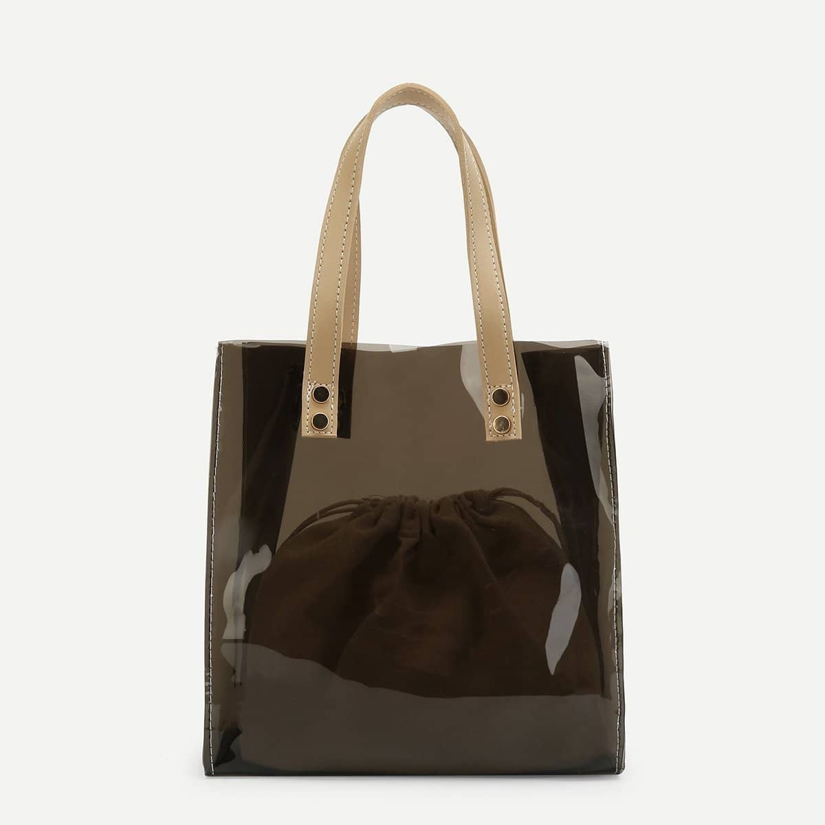 - PVC Tote Bag With Inner Pouch