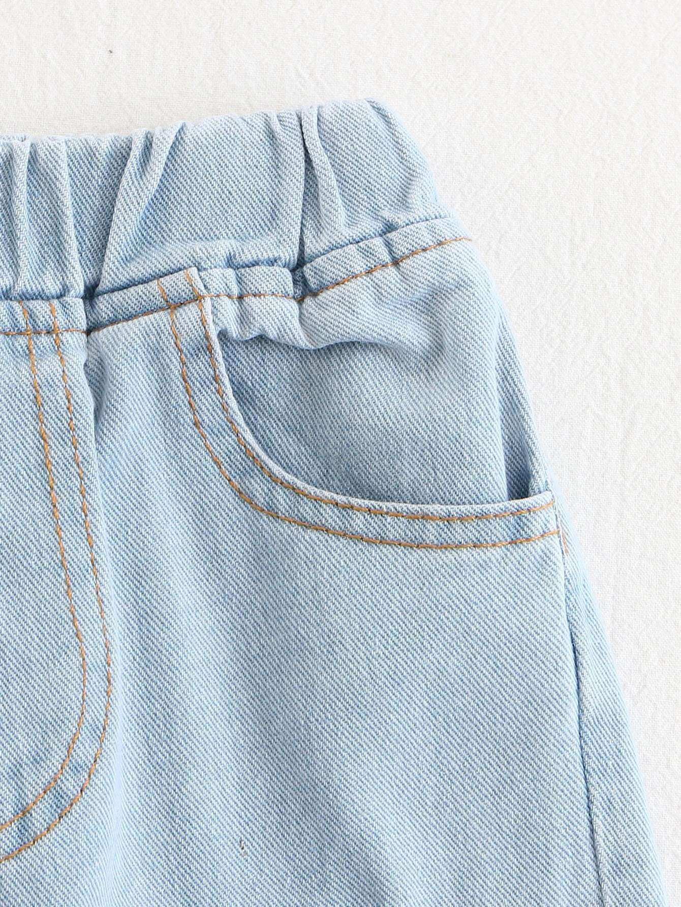 kinder zerrissene jeans german shein sheinside. Black Bedroom Furniture Sets. Home Design Ideas