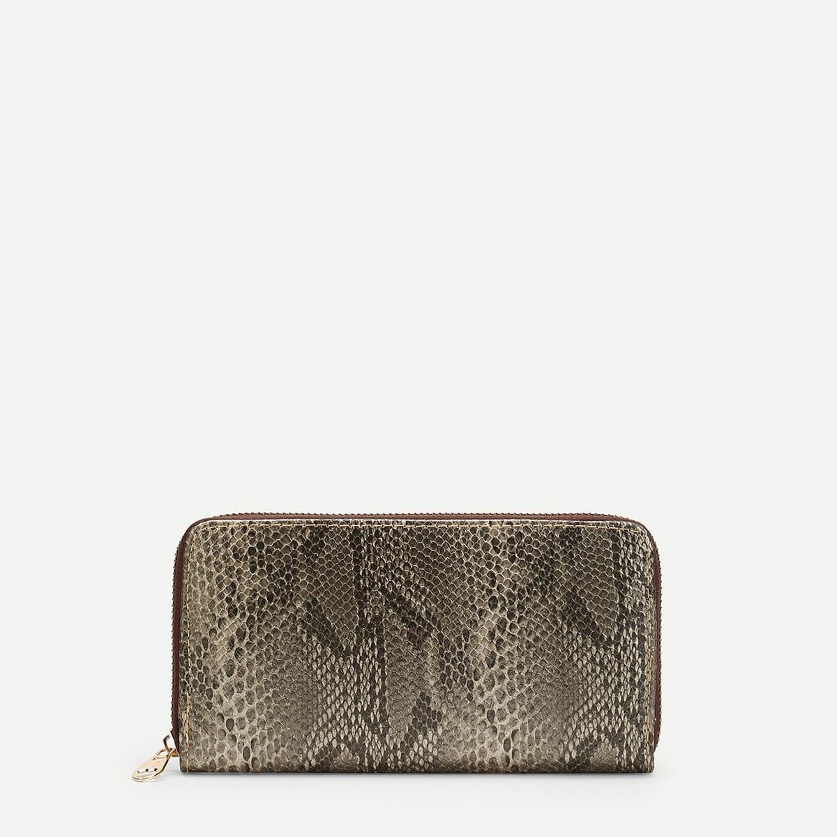 - Snakeskin Pattern Purse