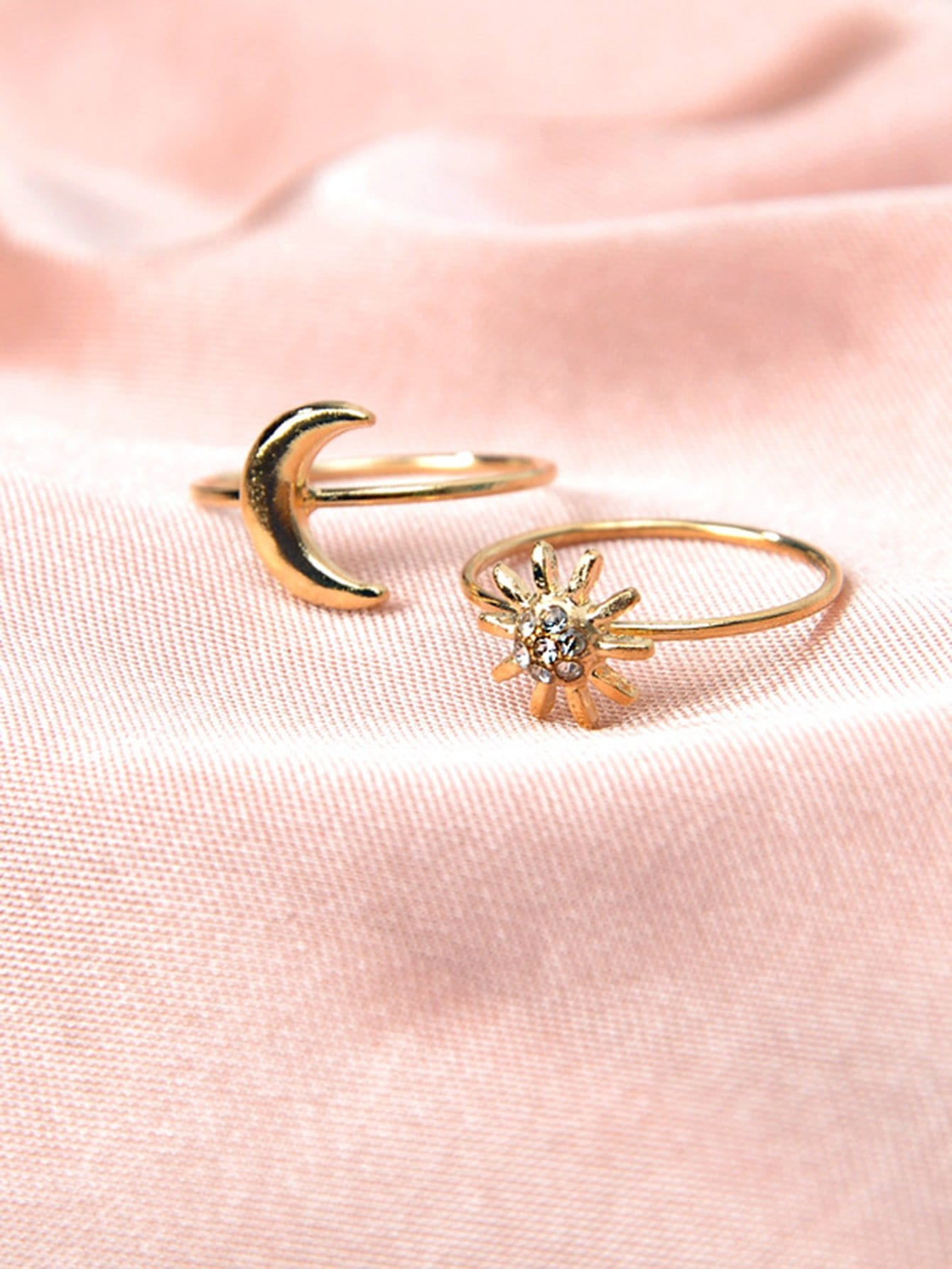 rings ring rg gold img rose enlarge mini moon