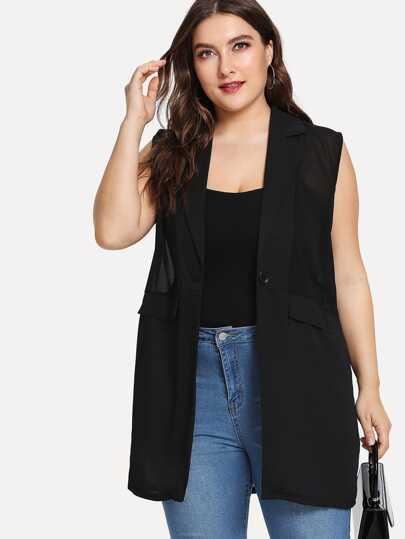 5c0108c2ba Women's Plus Size Coats & Jackets   SHEIN