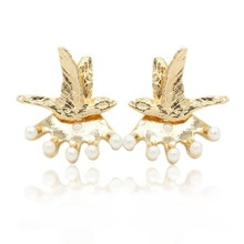 INOpets.com Anything for Pets Parents & Their Pets Bird Design Stud Earrings 1pair