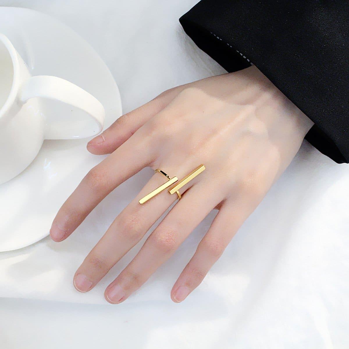 Золотые Повседневные Кольца от SHEIN