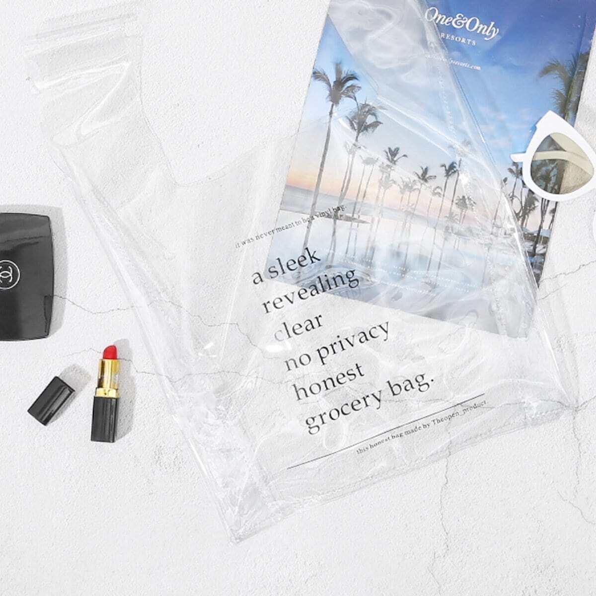 - Clear PVC Bag