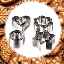 Stainless Steel Cookie Cutter 12pcs