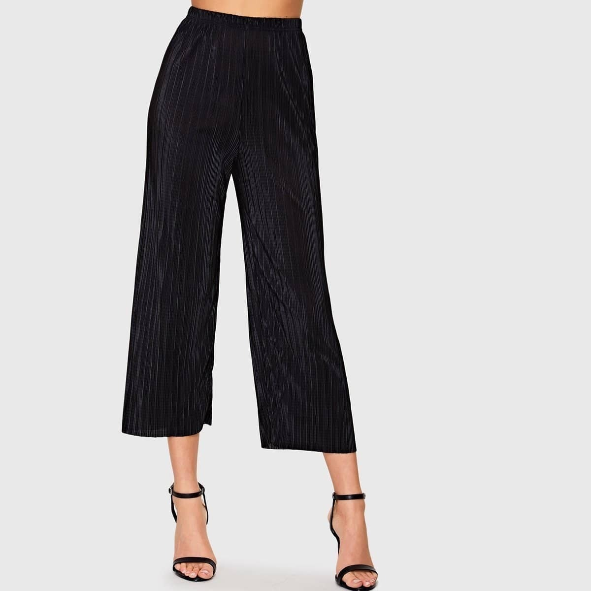 - Fine Pleated Trousers