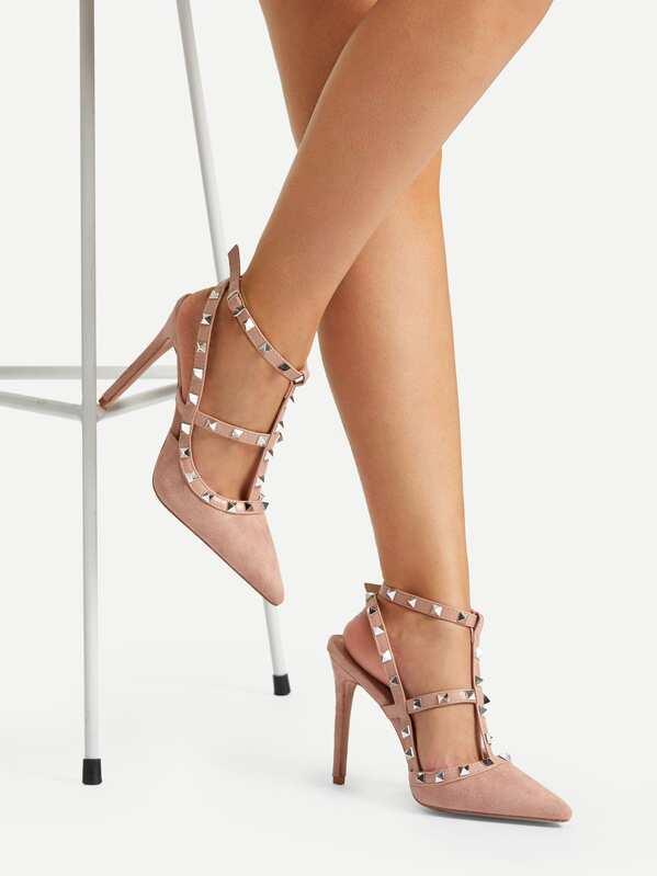 e2526a3e060 Cheap Studded Strap Gladiator Heels for sale Australia