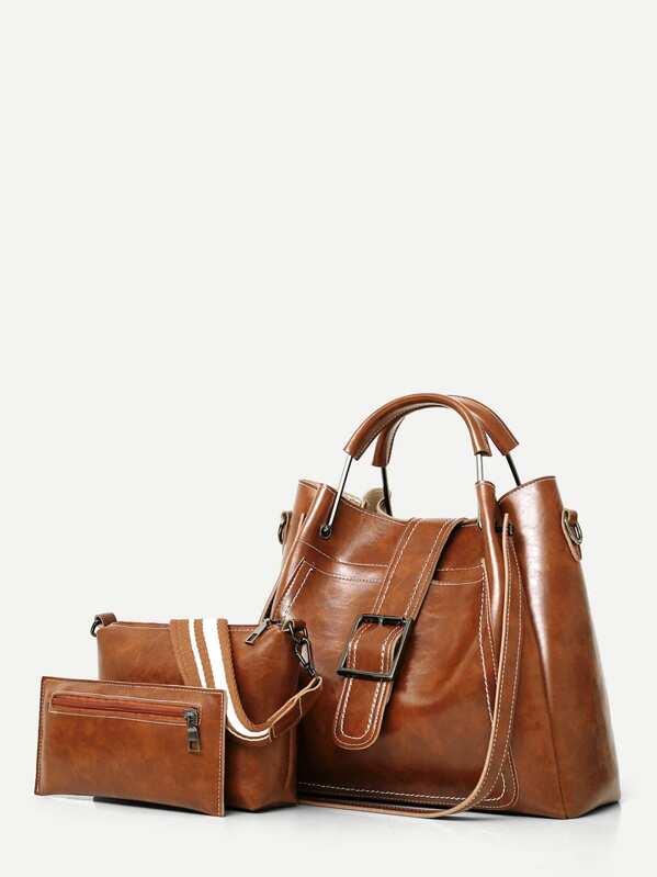 59133127c7 Stitch Trim Grab Bag With 2pcs Clutch | SHEIN UK
