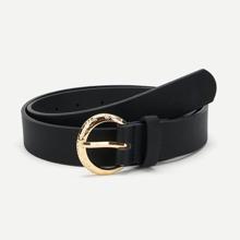 SHEIN | Metal Buckle Belt | Goxip