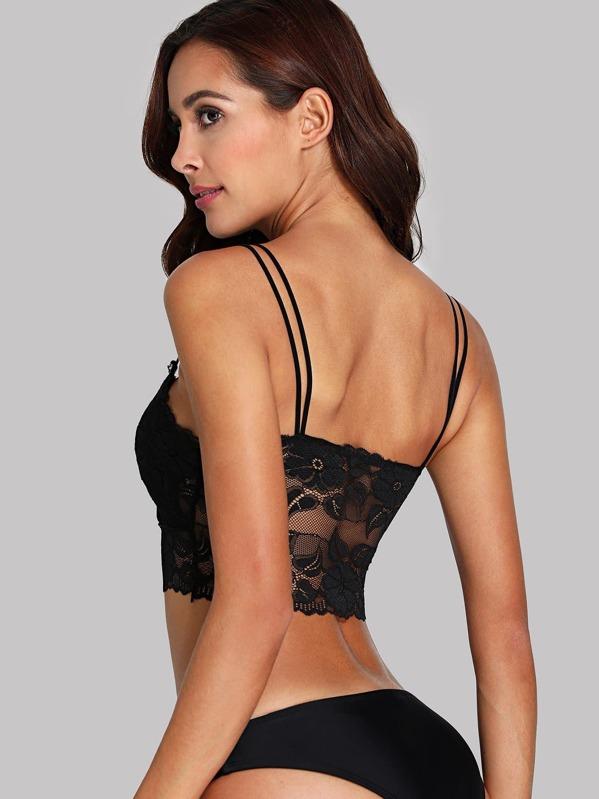 7a799d63863ee Cheap Floral Lace Double Straps Bralette for sale Australia