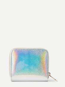 Iridescent PU Wallet