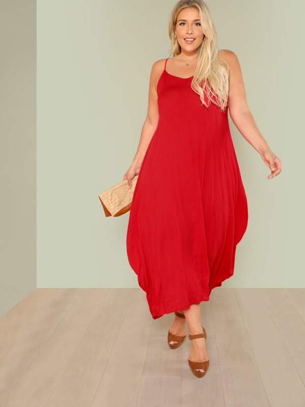 Plus Flowy Maxi Dress