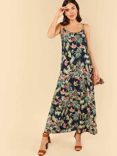 87bf0f71859 Robe caraco imprimée tropical