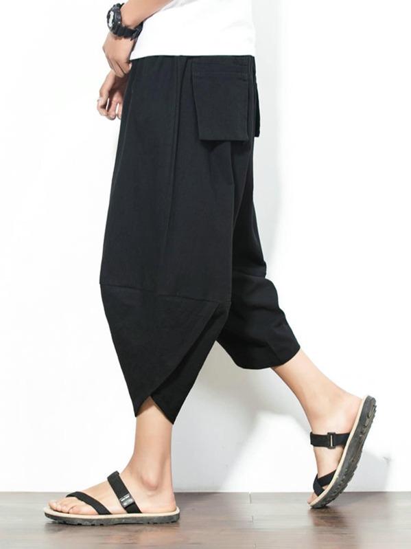 nueva alta calidad venta al por mayor oferta especial Pantalones harem sencillos de hombres
