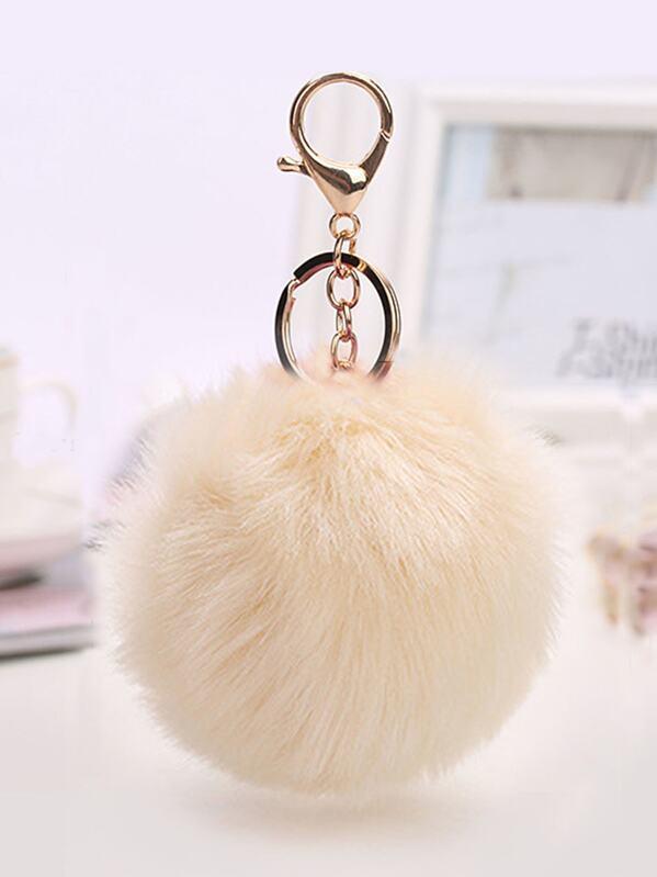 38a10955b8 Pom Pom Design Keychain | SHEIN