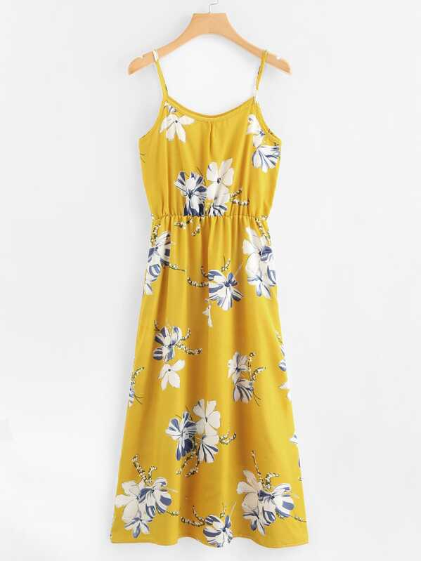 98a138f5738 Floral Print Cami Sundress
