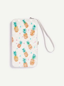 Pineapple Pattern PU Wallet