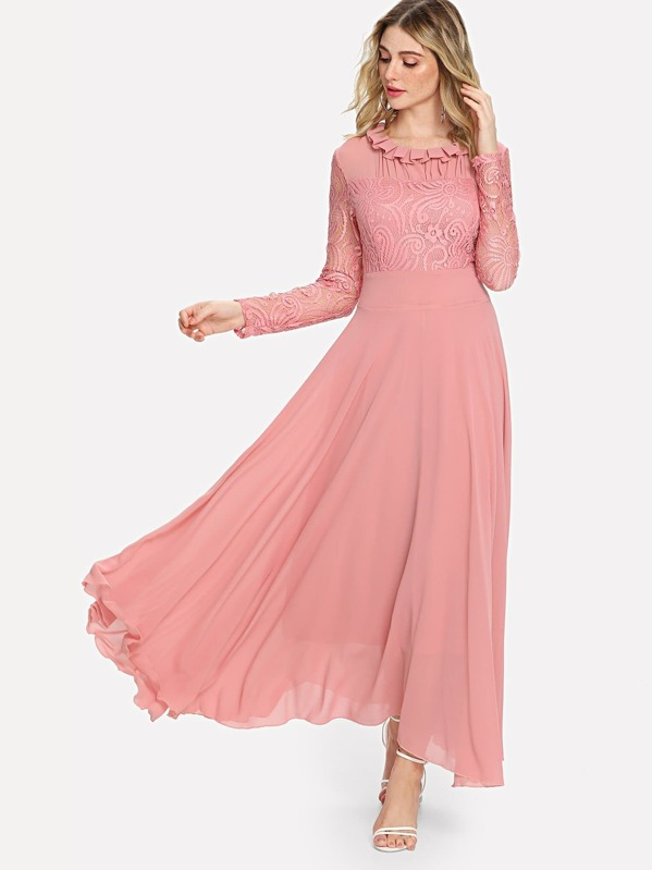 3a7e92005 الثوب مقارنة نقوش أزهار فستان | شي إن