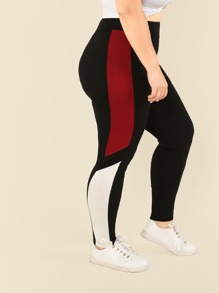 Plus Cut and Sew Leggings