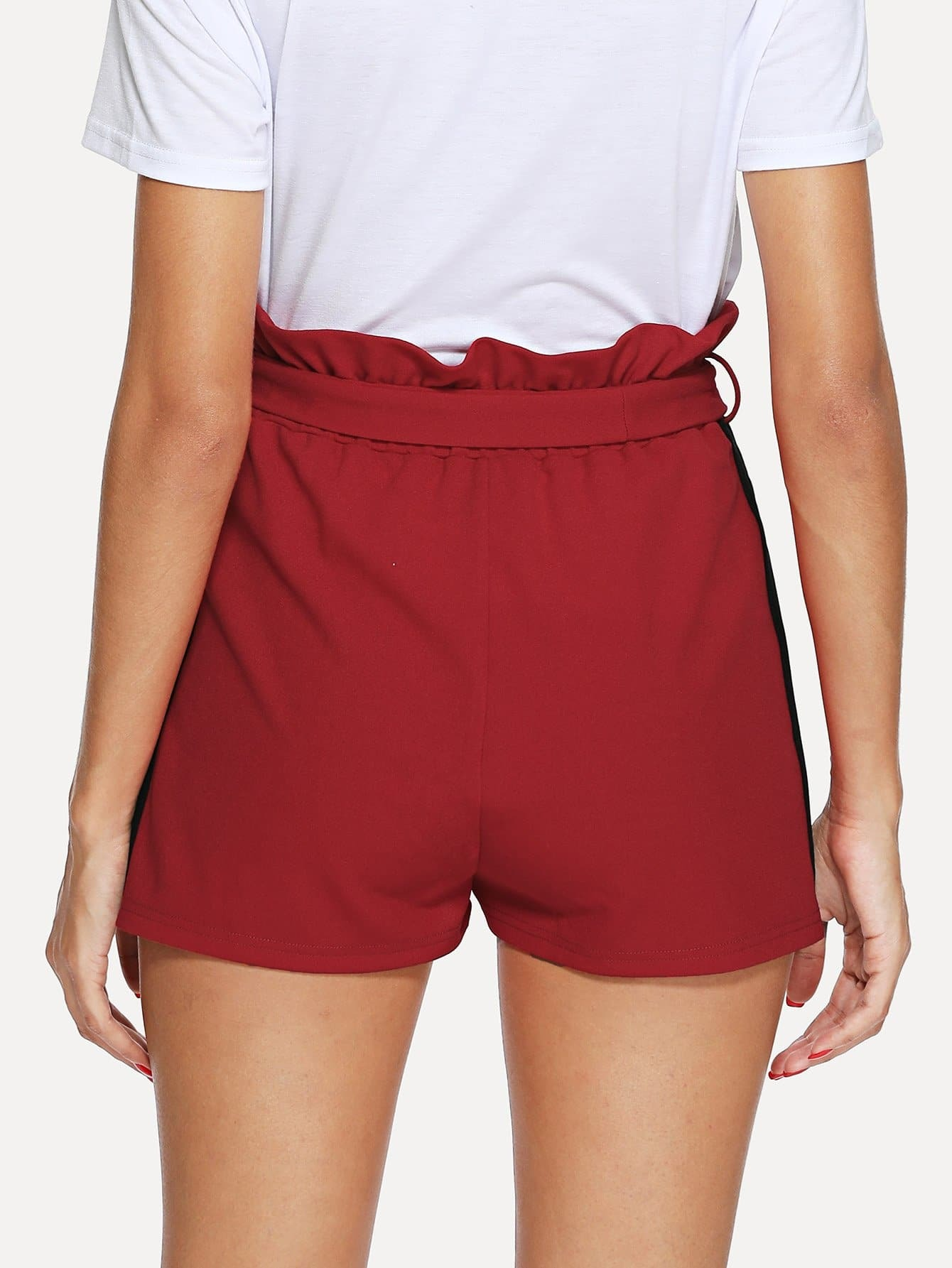 how to cut and sew shorts