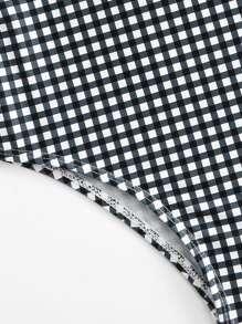 9de7f83dd32b1 Cheap Toddler Girls Cross Back Gingham Swimsuit for sale Australia | SHEIN