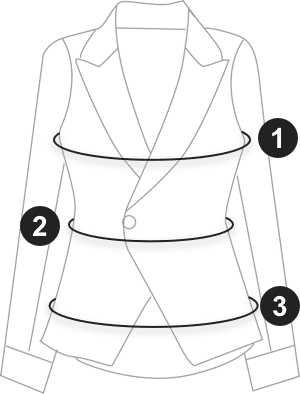 Frill Trim Solid Outerwear (Brown) size measurement guide