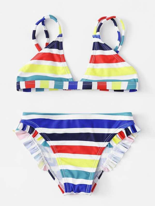 De Set Set De Rayas Bikini Bikini Niñas 4cLAR3jq5S