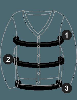 Bishop Sleeve Belted Sweater (Khaki)