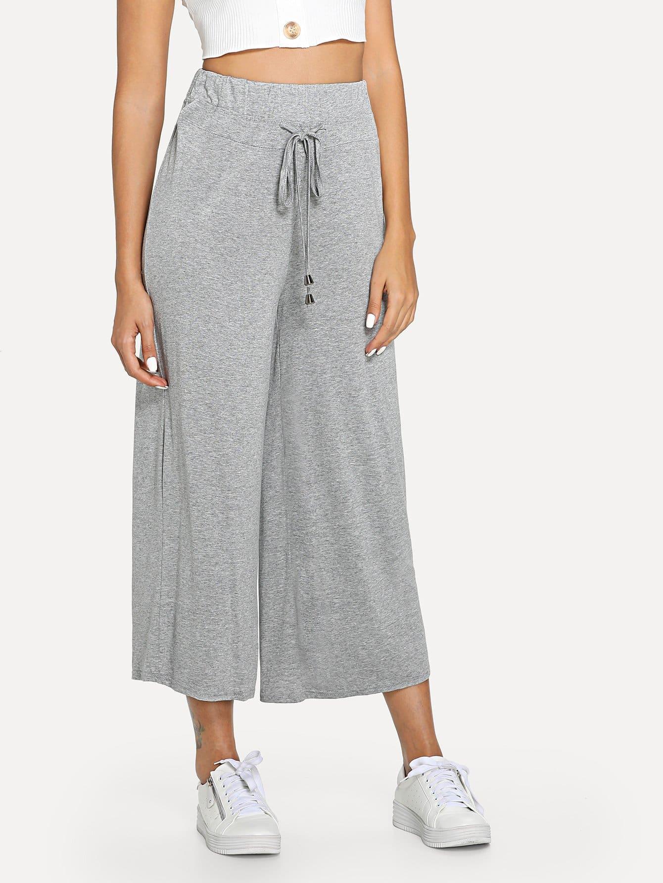 29e77535aa Drawstring Wide Leg Trousers