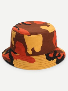 Camouflage Pattern Bucket Hat