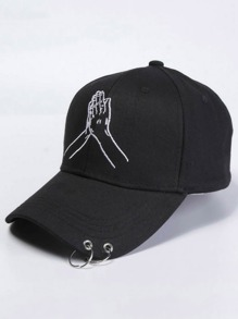 Embroidery Hand Baseball Cap
