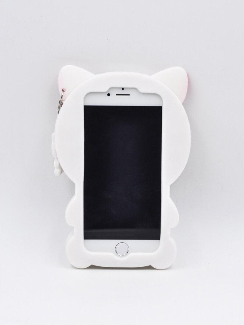save off 29116 d3175 Cat Shaped iPhone Case