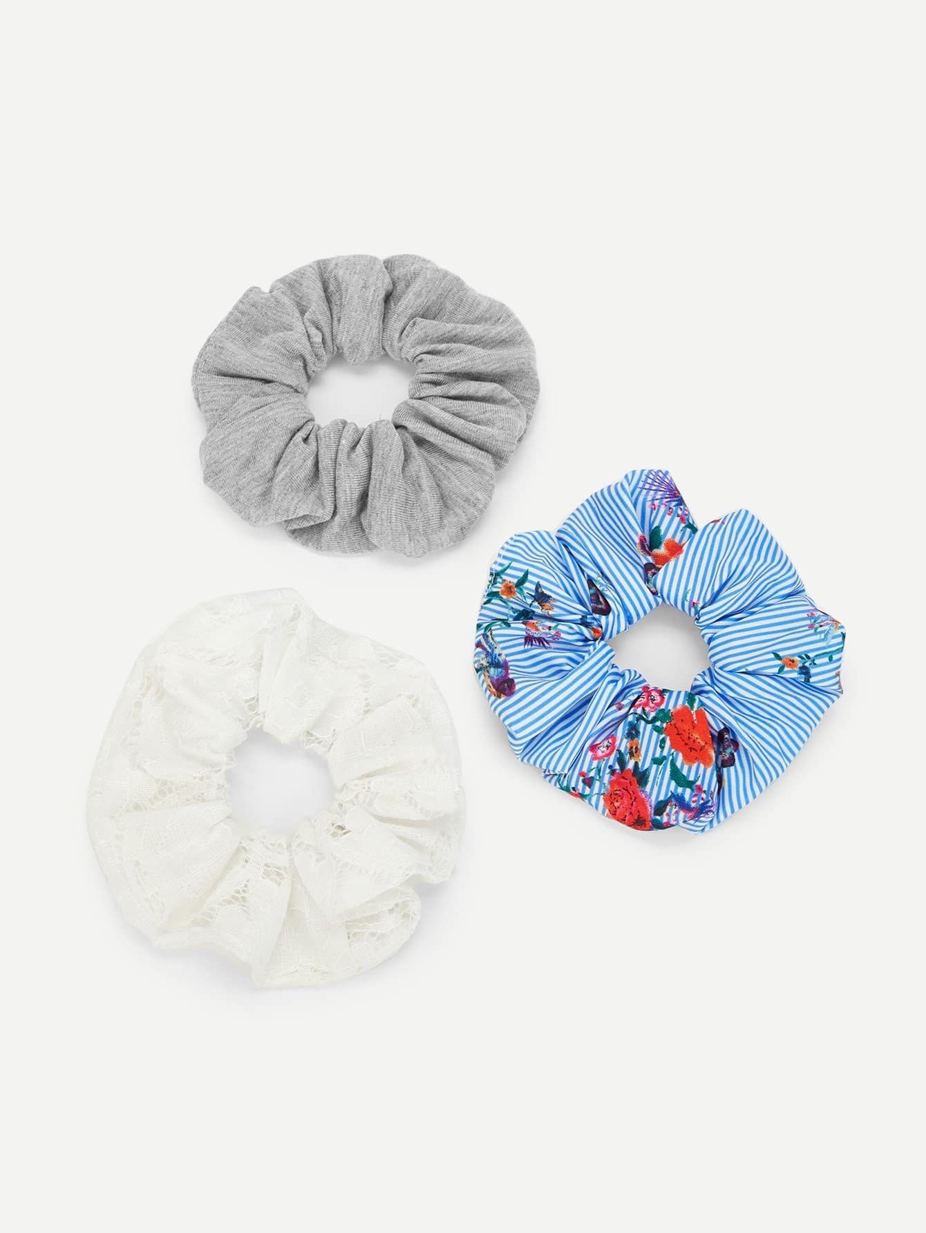 Häkeln Sie Haar Scrunchie 3pcs- German SheIn(Sheinside)