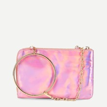 Chain Crossbody Bag With Ring