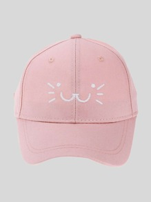 Embroidered Cartoon Baseball Cap
