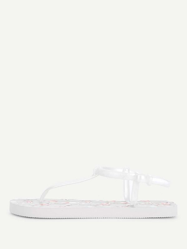 4baca026b Cheap Flamingo Print Toe Post Flat Sandals for sale Australia