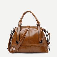 Stitch Trim Detail Tote Bag bag180608307