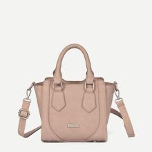 Stitch Trim Detail Tote Bag bag180608317